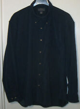 Great Northwest Clothing Co mans shirt L Navy 96% poly/4% spandex long sleeve