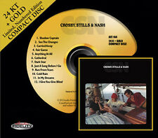 CROSBY, STILLS AND NASH - CSN 24 KT GOLD CD Audio Fidelity (2013) NEW