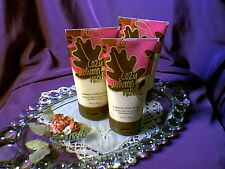 ~Rare!  Set of 3 Bath and Body Works ~ Cozy Autumn Vanilla ~ Creamy Body Scrubs~