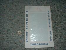 Tauro Models decals 1/35 1/72 1/48 Art 411 White Film   E7