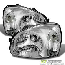 For 2001-2006 Santa Fe Headlights Headlamps Replacement Left+Right 01-06 Pair