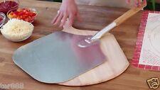 Wooden Handle Pizza Peel Oven Breads Sheet Metal Kitchen Supply Aluminium USA