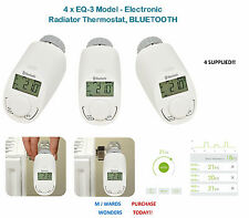 4 x EQ-3 Model - Electronic Radiator Thermostat, BLUETOOTH