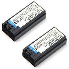 2x 3.7v Battery For NP-FC10 NP-FC11 Sony Cyber-shot DSC-P3 DSC-P5 DSC-P7 DSC-P8