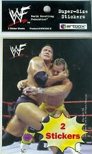 1999 World Wrestling Federation 99 WWF SuperSize 2 Sticker Sheet Stone Cold KANE