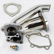 Silvia 180sx 200sx S13 S14 SR20 Turbo Elbow Downpipe / Screamer Pipe (Stainless)