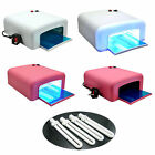 Hot Pro 36W Nail Art LED UV Gel Curing Lamp Dryer Timer Gelish Polish Kit Tool