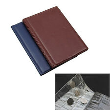 Money Penny Pockets Collection Storage Album Book 120 Pcs Coin Holders Mirable
