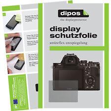 6x dipos Sony Alpha 7 / 7R Schutzfolie Displayschutzfolie Antireflex Testsieger