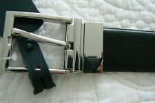 RALPH LAUREN MEN'S REVERSIBLE BELT BLACK BROWN LEATHER SIZE 36  $75 RETAIL NWT