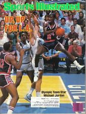 1984 (Jul. 23) Sports Illustrated, basketball, magazine, Michael Jordan, USA ~VG