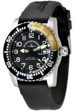 Zeno-Watch BASILEA SWISS MADE Airplane Diver 6349-515q-12-a1-9 Ronda ZAFFIRO 50atm