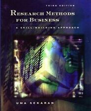 Research Methods for Business : A Skill-Building Approach by Uma Sekaran...