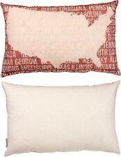 "WISH Dandelion Large Decorative Throw Pillow, 19"" x 12"", Primitives by Kathy"