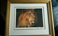 The KING Limited edition framed print by Stephen Gayford