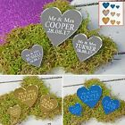 Wedding Favours Table Centerpieces Decorations Personalised Place Settings Heart