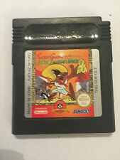 NINTENDO GAME BOY COLOR GBC looney tunes jeu speedy gonzales aztec adventure