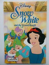 Disney SNOW WHITE AND THE SEVEN DWARFS Ladybird Tales Hardback VERY GOOD