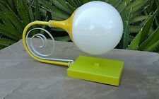 Mid Century Modern Yellow Wall Sconce  Lamp Light Space Age MCM Lite Trend