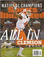 Clemson National Champions by Sports Illustrated 2017