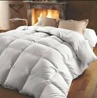 Double Bed 15 TOG **LUXURIOUS** 85% White Goose Feather 15% Down Duvet