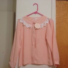NWT Liz Lisa Style Japan Korea Blouse Shirt-Small