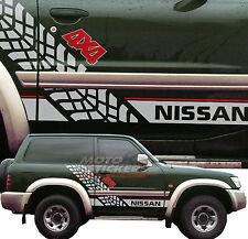 Adesivi fuoristrada 4x4 - NISSAN PATROL - Kit adesivi FIANCATE Racing