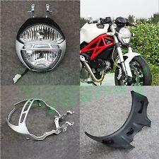New For Ducuti Monster 1100 1100s 09-10 Front Headlamp Light Headlight Assembly