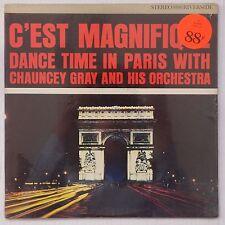 CHAUNCEY GRAY: C'est Magnifique DANCE TIME PARIS rare RIVERSIDE jazz SEALED lp