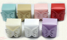 100pcs Lovely Butterfly Pattern Paper Candy boxes Gift Bags Wedding Party Favors