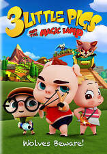 3 Little Pigs and the Magic Lamp (DVD, 2016)