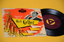 "HERB GELLER 7"" EP SENSATIONAL SAX 4 TRACKS ORIG UK '50 EX TOP JAZZ"