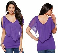 Summer Women Lady Tank Fashion Loose Vest Sleeveless T-Shirt Casual Tops Blouse