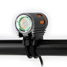 Floodlight 1800 LM  LED Bike Bicycle Light Headlight Kit Double Switch New