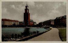 Aalborg Dänemark Danmark AK ~1940/50 Nordjylland Markuskirken Kirke Kirche Turm