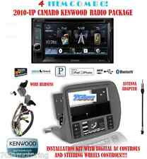 KENWOOD RADIO DDX372BT + SCOSCHE GM5201AB 2010 & UP CHEVY CAMARO DASH KIT INSTAL