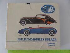 Delage D-8 Delage History Pierre Dumont 1978 Les Automobiles Delage