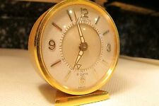 Vintage Art Deco LeCoultre Memovox 8 Days #219 movement Swiss Made Alarm Clock