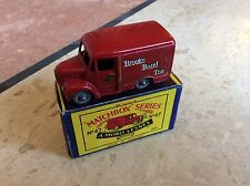 MATCHBOX REGULAR WHEEL No 47a TROJAN BROOK BOND TEA VAN, BOXED