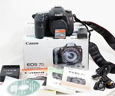 Canon EOS 7D 18.0 MP DSLR Camera Body LOW SHUTTER COUNT