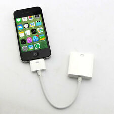 Hot Apple 30 Pin Dock Connector to VGA Cable Adapter For iPad 1/2/3 iPhone 4/4S