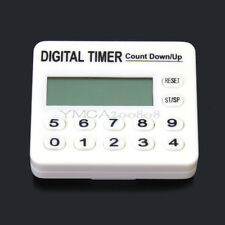 Practical LCD Digital Kitchen Cooking Countdown Timer Alarm Plastic Shell Hot