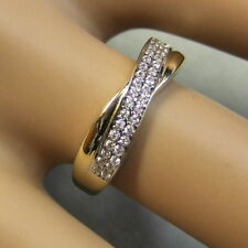 9 ct gold second hand stone set ring