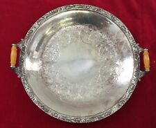 """New listing Wilcox International Silver Plate Co. Beverly Manor N 7062 Serving Tray 10.25"""""""