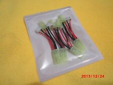 4pcs 22AWG Cable LED Light Lipo Power Adapter connecter wire for Parrot Ar Drone