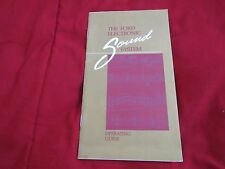 1988 FORD MUSTANG THUNDERBIRD PROBE RADIO AUDIO OWNERS MANUAL