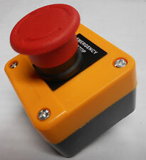 EMERGENCY STOP STATION TWIST UNLOCK BUTTON DANGER YELLOW XAL-J174