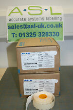 Genuine Sato (NOR) 2/9 B Plain labels permanent adhesive