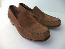 RALPH LAUREN POLO SPORT BROWN SUEDE LEATHER CLASSIC LOAFER SHOE WOMENS 9M BRAZIL