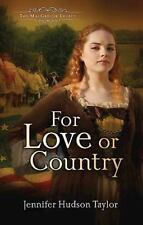 For Love or Country: The MacGregor Legacy - Book 2, Taylor, Jennifer Hudson, New